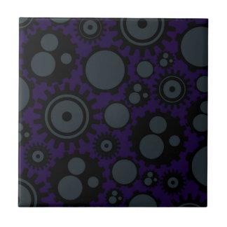 Grunge Steampunk Gears Tile