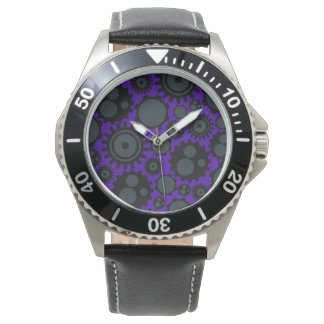 Grunge Steampunk Gears Watch