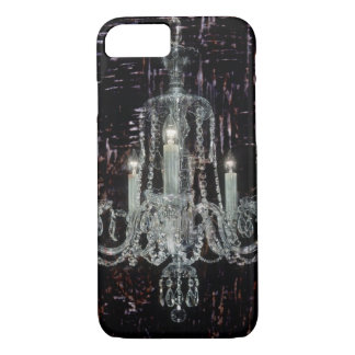 Grunge Steampunk Gothic Rustic Chandelier iPhone 8/7 Case