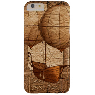 Grunge Steampunk Victorian Airship Barely There iPhone 6 Plus Case