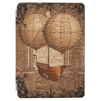 Grunge Steampunk Victorian Airship iPad Air Cover