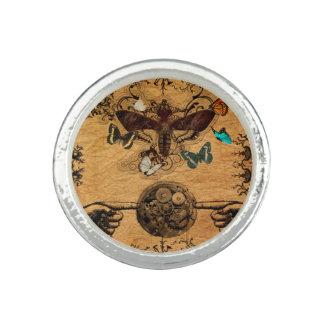 Grunge Steampunk Victorian Butterfly