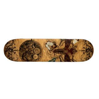 Grunge Steampunk Victorian Butterfly 21.6 Cm Skateboard Deck
