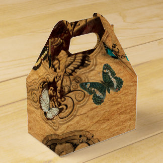 Grunge Steampunk Victorian Butterfly Favour Box