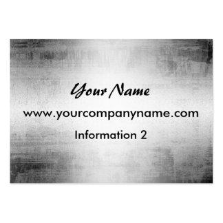 Grunge Steel Metal Look Business Cards