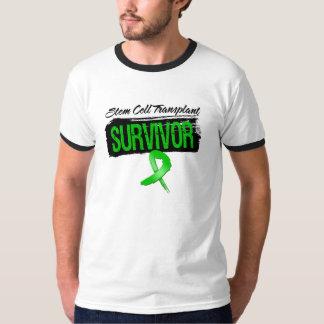 Grunge Stem Cell Transplant Survivor Tee Shirts