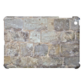Grunge Stone Wall With Irregular Stones Cover For The iPad Mini
