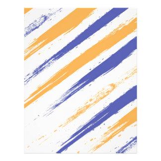 Grunge Stripe Flyer