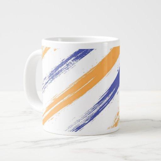 Grunge Stripe Jumbo Mug