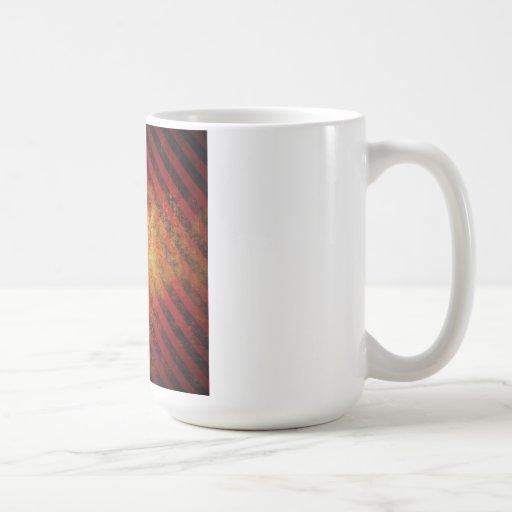Grunge Stripes Mugs