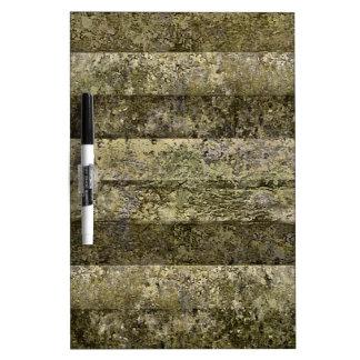 Grunge Stripes Print Dry Erase Whiteboards