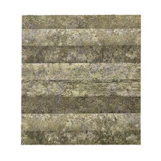 Grunge Stripes Print Notepad