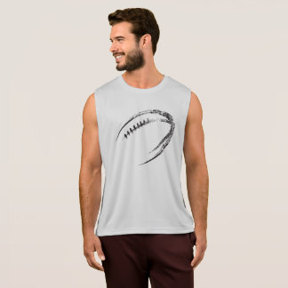Grunge Style Football Design Singlet
