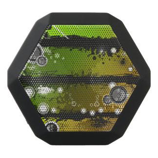 Grunge Style Music Banner Black Boombot Rex Bluetooth Speaker
