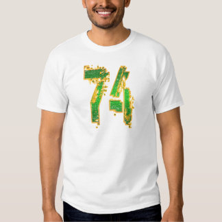 GRUNGE STYLE NUMBER 74 T-SHIRTS