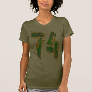 GRUNGE STYLE NUMBER 74 TSHIRT