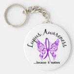 Grunge Tattoo Butterfly 6.1 Lupus Keychains