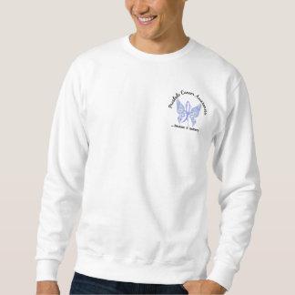 Grunge Tattoo Butterfly 6.1 Prostate Cancer Sweatshirt
