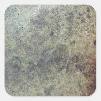 Grunge Texture Square Sticker