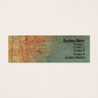 Grunge Textured ARt Skinny Website Business Card