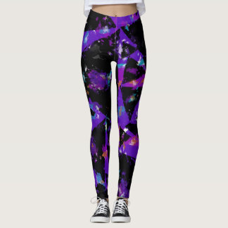 Grunge Triangle Leggings