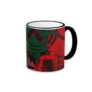 grunge tulip coffee mug