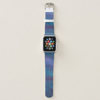 Grunge | Turquoise Teal Blue Violet Purple Apple Watch Band