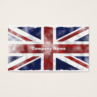 Grunge Uk, Company Name Business Card