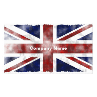 Grunge Uk, Company Name Pack Of Standard Business Cards