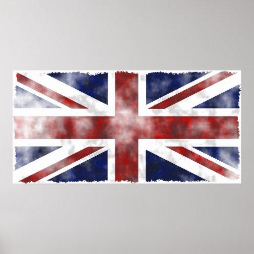 Grunge UK Poster