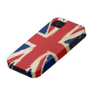 Grunge Union Jack Case For The iPhone 4
