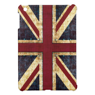 Grunge Union Jack ipad mini case