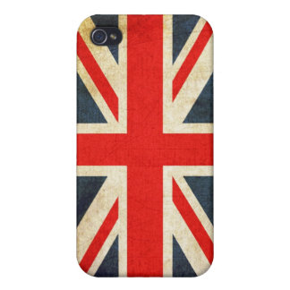 Grunge Union Jack  iPhone 4 Covers