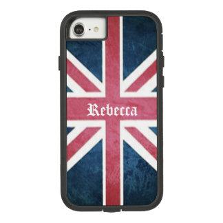 Grunge United kingdom british union jack flag Case-Mate Tough Extreme iPhone 8/7 Case