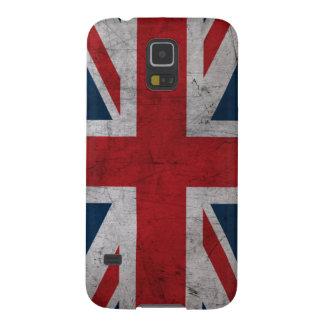 Grunge United Kingdom Flag Case For Galaxy S5