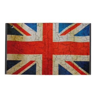 Grunge United Kingdom flag iPad Cover