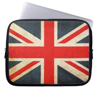 Grunge United Kingdom Flag Laptop Sleeve