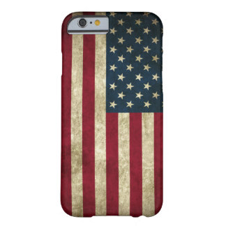 Grunge US Flag Barely There iPhone 6 Case