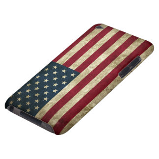 Grunge US Flag Barely There iPod Case