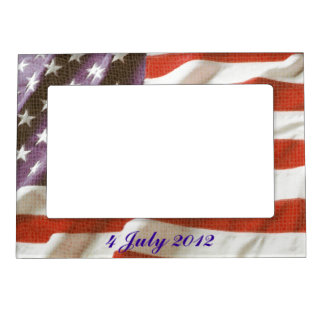 Grunge USA Flag photo frames