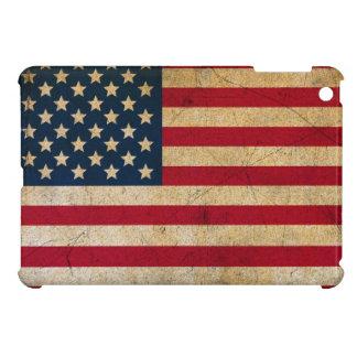 Grunge Vintage American Flag iPad Mini Cover