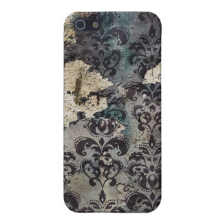 Grunge Vintage Damask 4/4s  iPhone 5 Covers