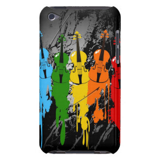 Grunge Violins iPod Case iPod Touch Cases