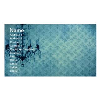 Grunge Wallpaper Chandelier 3 Business Cards