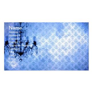 Grunge Wallpaper Chandelier 5 Business Card Templates
