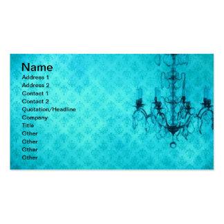 Grunge Wallpaper Chandelier 8 Business Cards