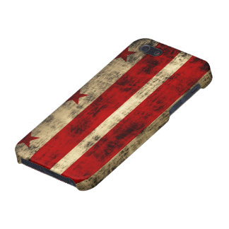 Grunge Washington DC Flag iPhone 5 Case