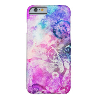 Grunge Watercolor Painting Barely There iPhone 6 Case