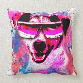 Grunge Watercolour Jack Russell Grade A Pillow