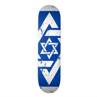 Grunge White Star of David Skateboards